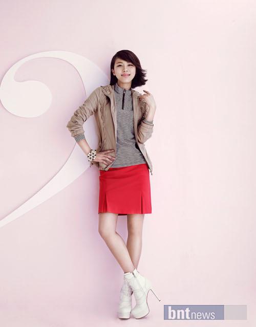 Ha Ji Won trở thành vận động viên bóng bàn - 6