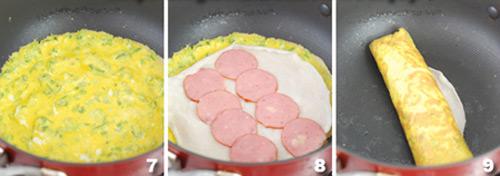 Dai dai... bánh trứng cuộn 3 lớp - 3