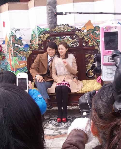 """Kim Tae Hee - Song Seung Heon """"phim giả tình thật""""? - 1"""