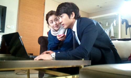 """Kim Tae Hee - Song Seung Heon """"phim giả tình thật""""? - 6"""