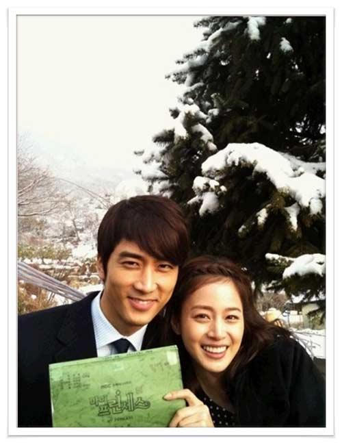 """Kim Tae Hee - Song Seung Heon """"phim giả tình thật""""? - 9"""
