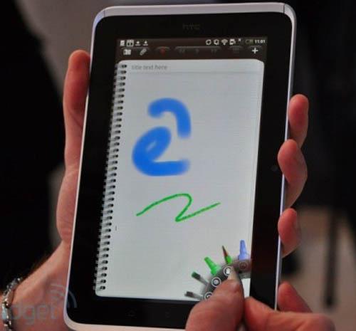 Tablet HTC Flyer có gì khủng? - 4