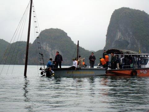 Lời kể kinh hoàng vụ chìm tàu ở Hạ Long - 2
