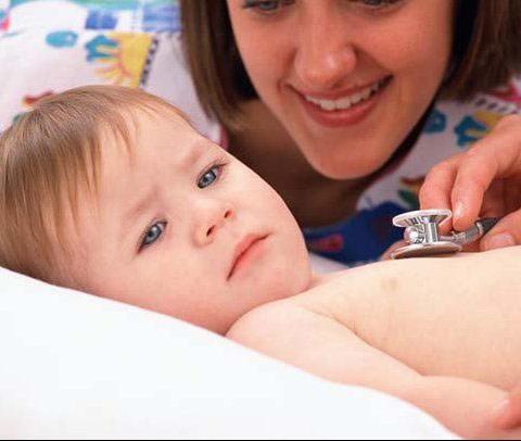 Viêm phế quản ở trẻ sơ sinh lúc giao mùa - 1