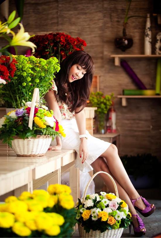 """Đoan Trang nữ tính với """"Tình ca"""" - 9"""