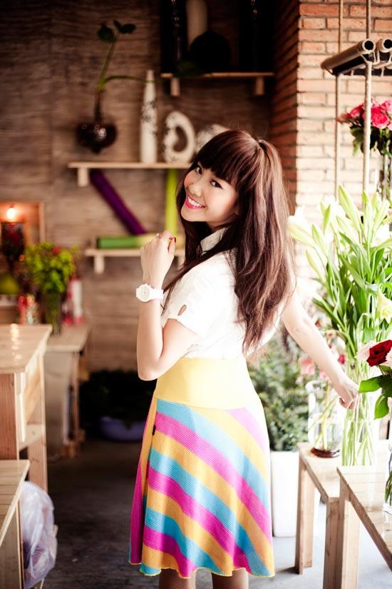 """Đoan Trang nữ tính với """"Tình ca"""" - 12"""