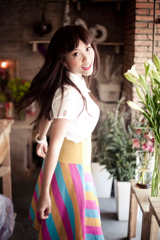 """Đoan Trang nữ tính với """"Tình ca"""" - 13"""