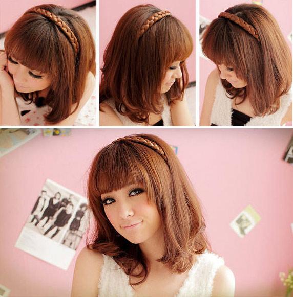 5 kiểu tóc giả dễ thương - 4