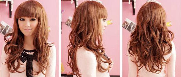 5 kiểu tóc giả dễ thương - 16