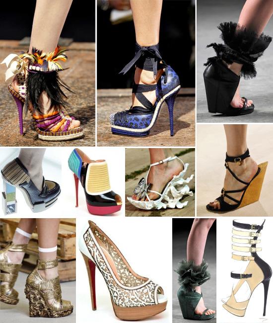 Bật mí xu hướng giày mùa Xuân/Hè 2011 - 1