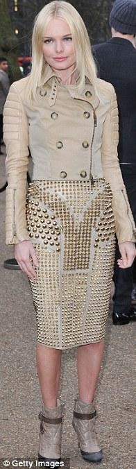Sao thời trang hội tụ tại show Burberry - 2