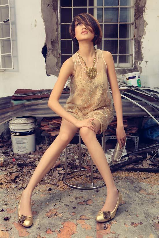Thanh Hoa VNTM trở lại vai trò người mẫu - 2