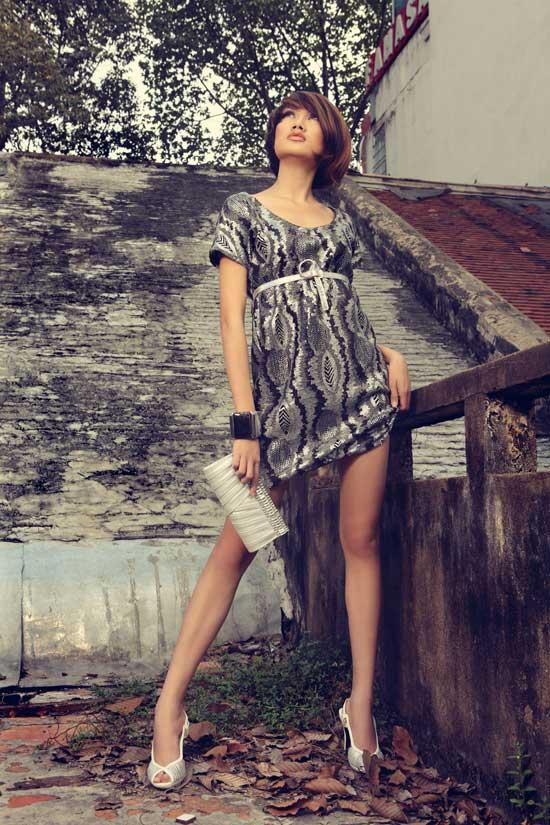 Thanh Hoa VNTM trở lại vai trò người mẫu - 3