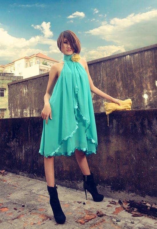 Thanh Hoa VNTM trở lại vai trò người mẫu - 4