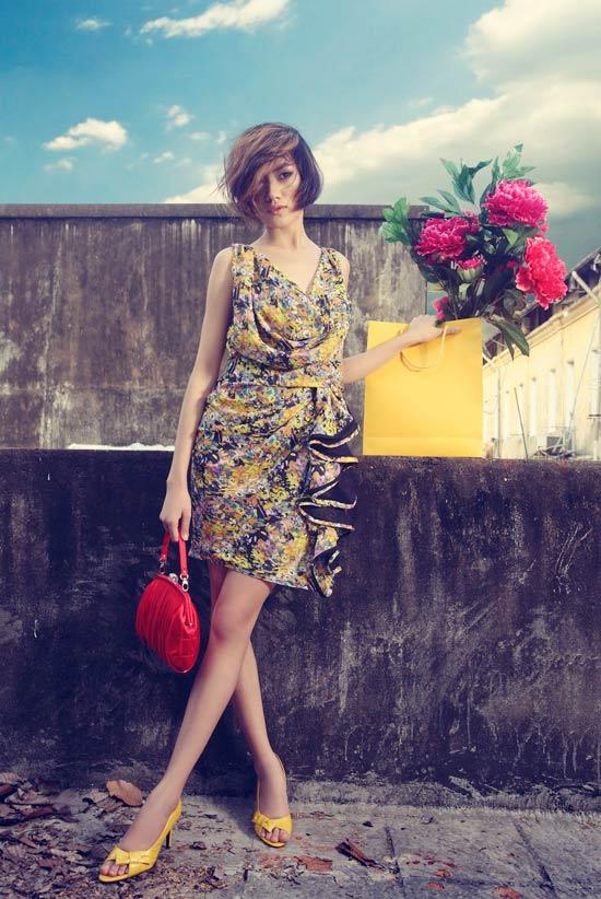 Thanh Hoa VNTM trở lại vai trò người mẫu - 6