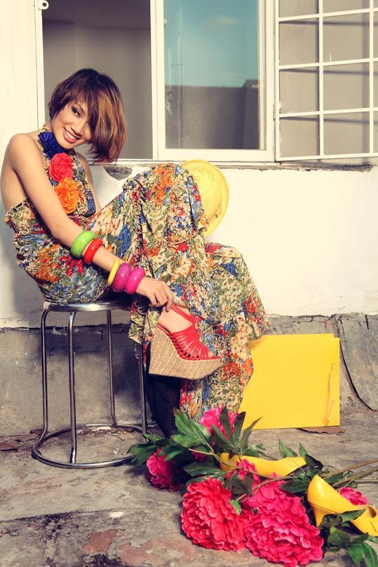 Thanh Hoa VNTM trở lại vai trò người mẫu - 7