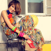Thanh Hoa VNTM trở lại vai trò người mẫu