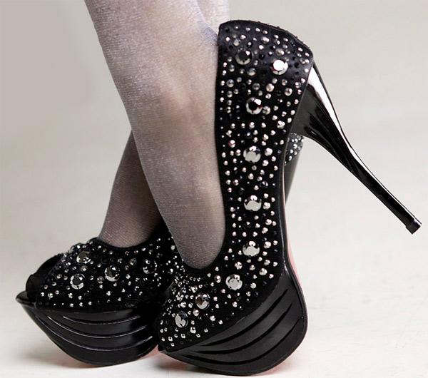 Giày cao gót cho cô nàng cô sở chịu chơi - 5