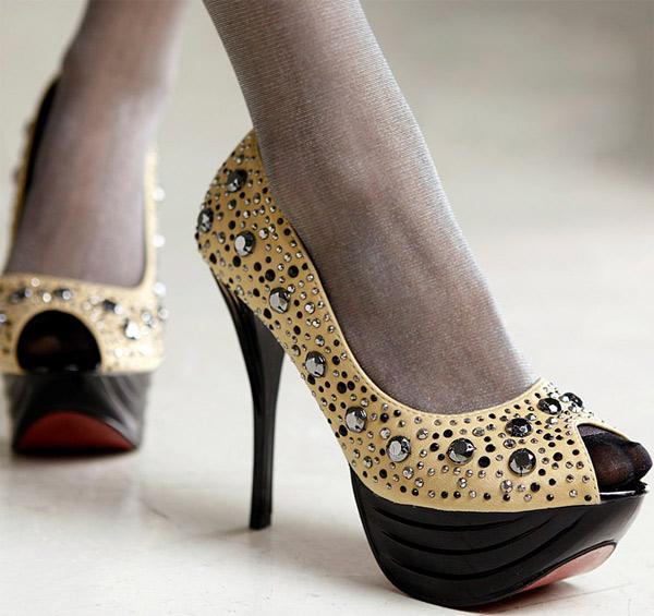 Giày cao gót cho cô nàng cô sở chịu chơi - 6