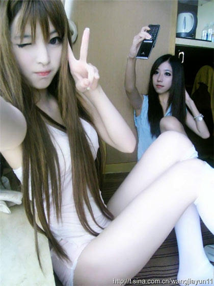 Hot girl làm điên đảo dân mạng, Bạn trẻ - Cuộc sống, Hot girl, Wang Jiayun, gioi tre, girl xinh, anh girl xinh, 8x, 9x, gioi tre, nu sinh