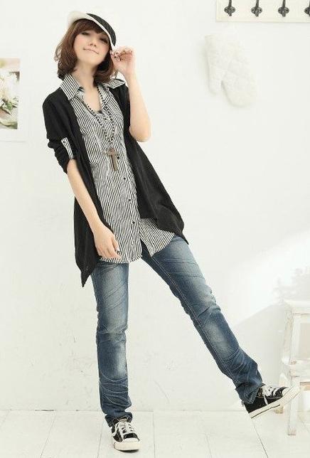 Cách phối đồ năng động với quần jeans - 11