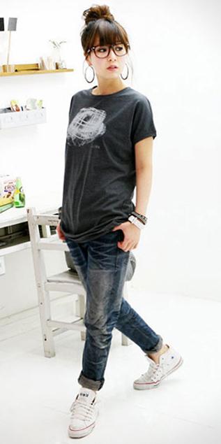 Cách phối đồ năng động với quần jeans - 14