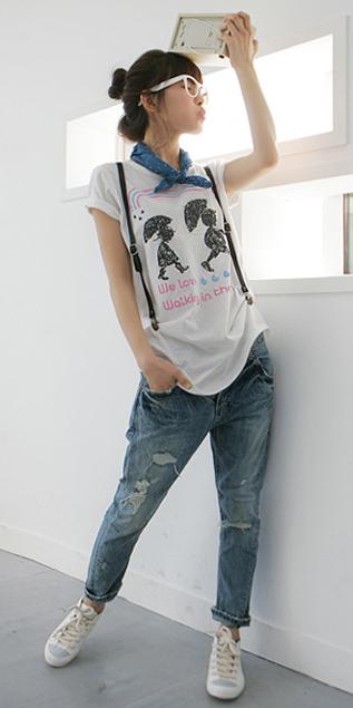 Cách phối đồ năng động với quần jeans - 19