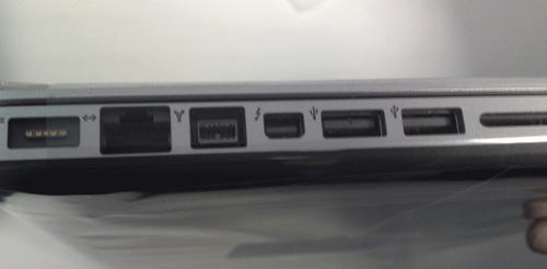 Lộ hình ảnh và cấu hình Macbook Pro mới - 2