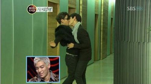 Big Bang chơi trội bằng hôn đồng tính - 7