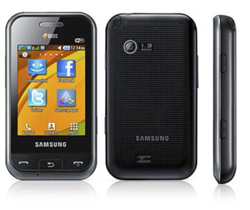 Samsung tung dế cảm ứng 2 SIM, 2 sóng - 2