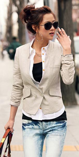 Bí quyết diện vest đẹp cho nữ công sở - 23