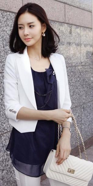 Bí quyết diện vest đẹp cho nữ công sở - 11
