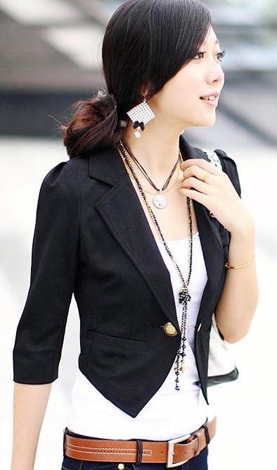 Bí quyết diện vest đẹp cho nữ công sở - 20