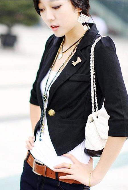 Bí quyết diện vest đẹp cho nữ công sở - 21