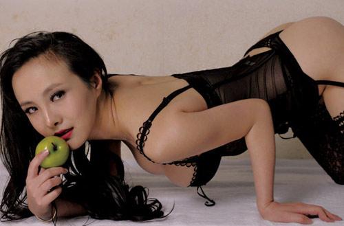 """Hot girl Gan Lulu tiếp tục tung """"ảnh nóng"""" - 4"""