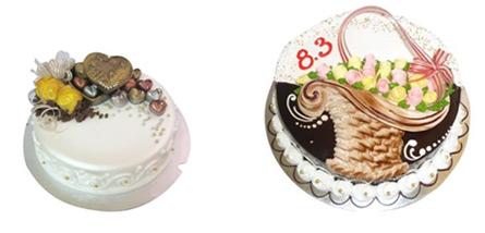 """Bánh kem 8/3: """"Món quà yêu thương"""" - 1"""