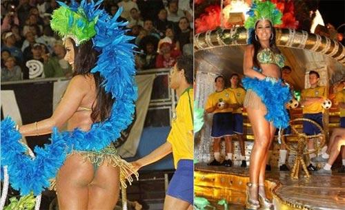 Người đẹp World Cup tỏa sáng tại lễ hội Carnival - 5