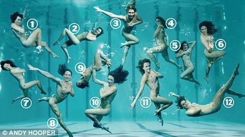 Chụp ảnh khỏa thân dưới nước - 2