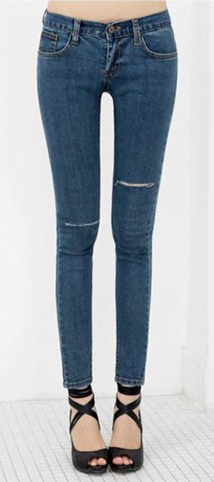 Mẹo mặc quần jeans rách tới công sở - 13