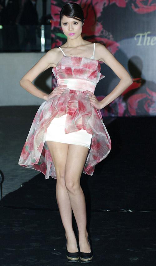 Hồng Quế xinh đẹp trong váy voan mỏng - 9