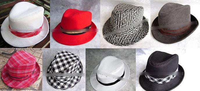 Đón hè với 3 kiểu mũ hot - 1