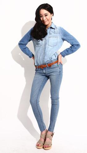 7 ngày phong cách với quần jeans - 2