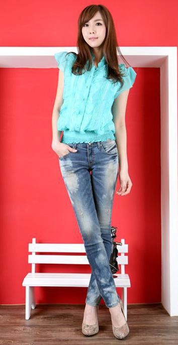 7 ngày phong cách với quần jeans - 7
