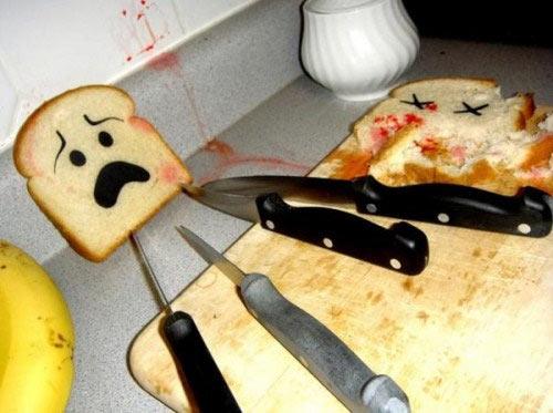 Những hình ảnh hài hước về thức ăn - 10
