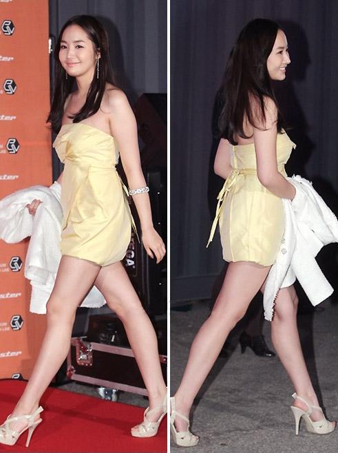 """Ngắm váy ngắn để """"soi"""" chân nuột của Sao Hàn - 18"""