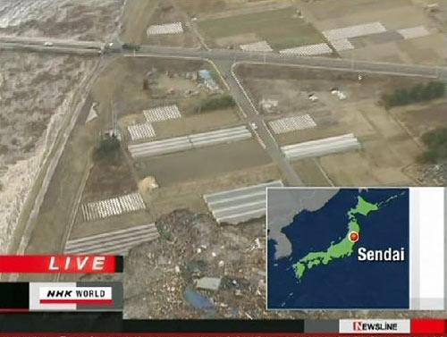 Chùm ảnh động đất sóng thần ở Nhật Bản - 1