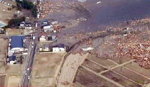 Chùm ảnh động đất sóng thần ở Nhật Bản - 3