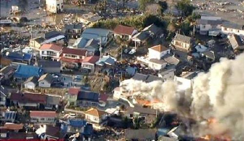 Chùm ảnh động đất sóng thần ở Nhật Bản - 7