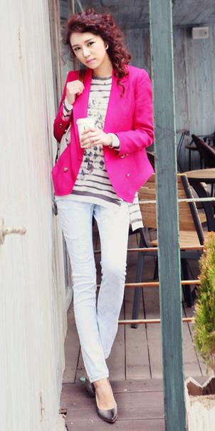 Tư vấn: Mặc đẹp với màu hồng đậm - 10