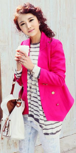 Tư vấn: Mặc đẹp với màu hồng đậm - 11